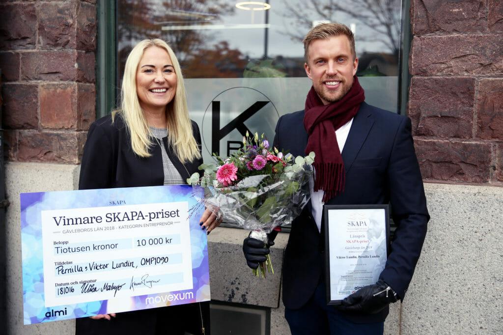 Viktor Lundin och Pernilla Lundin, Kontrollbolaget